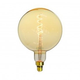 lampada led taschibra giant globo ambar 4w autovolt 1