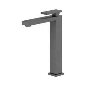 misturador monocomando para lavatorio de mesa docol new edge b a grafite escovado 00925470