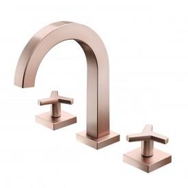 misturador lavatorio docol city bica alta cobre escovado 00878169