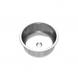 cuba redonda aco inox polida mekal extra cr 30 30 cm