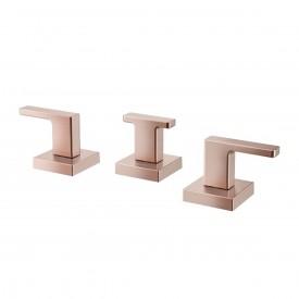 misturador bide lavatorio docol stillo cobre escovado 00721969