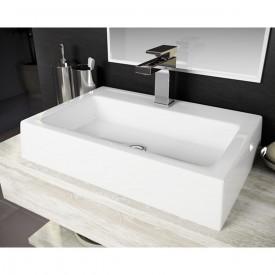 cuba de apoio com mesa lavatorio athenas 57 5 cm branco 2