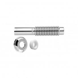 tubo de ligacao blukit ajustavel metalizado