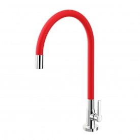 torneira cozinha mesa docol galiflex vermelho cromado 00966979 2