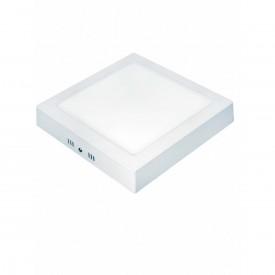 painel led quadrado soprepor taschibra branco 6w luz branca